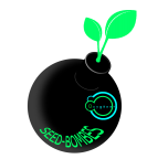 Logo seed vert
